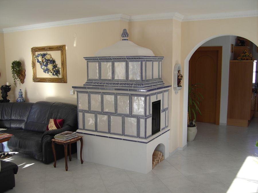Kachelofen für Wohnzimmer